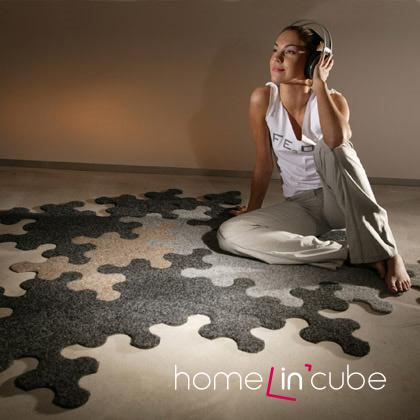 Pro ty, kteří rádi obměňují vzhled svého domova, je k dispozici koberec, který si sami mohou poskládat.