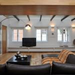 Stavební úpravy umožnily zasadit více oken.