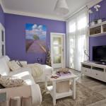 Když majitel zvažoval barevnost nového domova, bílá byla hned od začátku zřejmá.