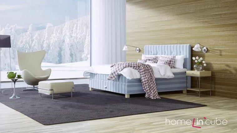 Příjemná je i zvýšená lehací plocha. Poskytuje pohodlné vstávání i uléhání.