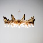 Stropní svítidlo Goes Bourgie, design Patricia Urquiola pro Kartell