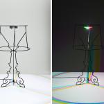 Stolní lampa Goes Bourgie, design Ludovica a Roberto Palomba, Kartell