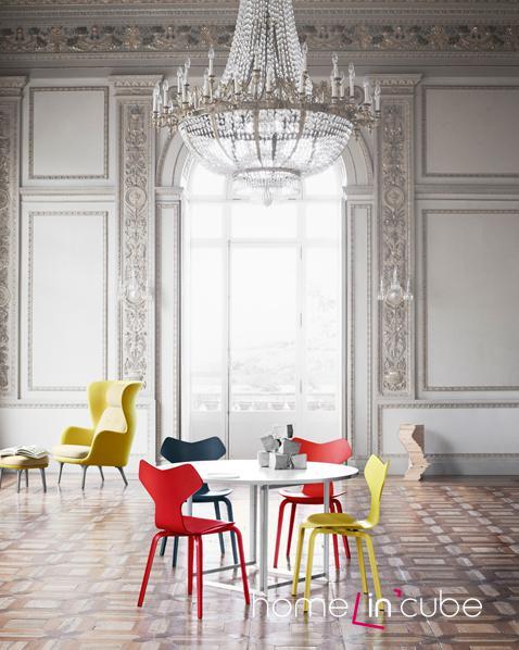 Jídelní židle od Fritze Hansena mohou být vhodným doplňkem do každého interiéru