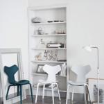 Jídelní židle Fritz Hansen, od Arne Jacobsena, nadčasový design