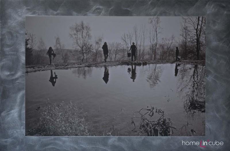 Fotka na kovovém podkladu, Iveta Kopicová