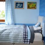 Maličký pokojík v oblacích pro devítiletého kluka.