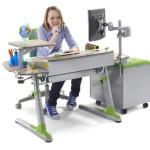 Výhodou rostoucího nábytku je jeho uplatnění po celou dobu studií vašich dětí. Roste totiž s nimi.
