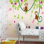 Dětské samolepky dokonale rozzáří dětský pokoj