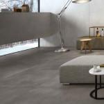 Slinutá rektifikovaná dlažba Resine odstín silicio (Ariostea), rozměr 100 x 100 cm, Kozak bath & interior.