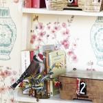 Dřevěná dekorace ve tvaru ptáka
