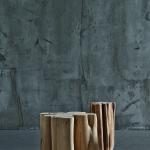 Dekoračními prvky ze surového dřeva lze zajímavě doplnit interíér