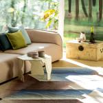 Netradiční stolek ozvláštní interiér