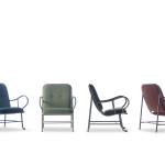 Někteří výrobci nabízejí kolekce venkovního i vnitřního nábytku, které jsou vzhledem naprosto totožné. Neexistuje snazší způsob jak se cítit na zahradě jako v obýváku a naopak. Vždy podle potřeby. Gardenia, vyrábí Barcelona Design.