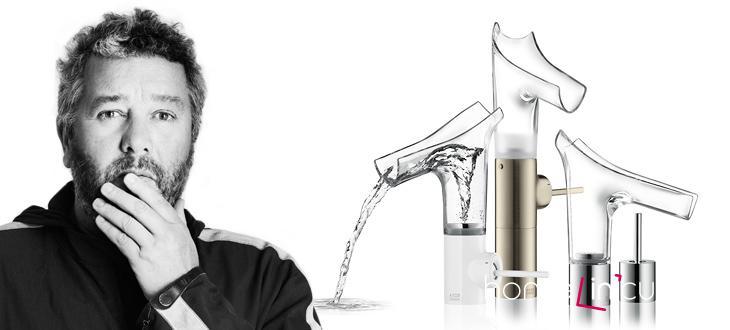 Axor Starck V a její tvůrce Philipe Starck