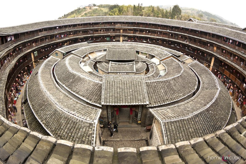 V čínských stavbách se odnepaměti dodržují pravidla feng šuej