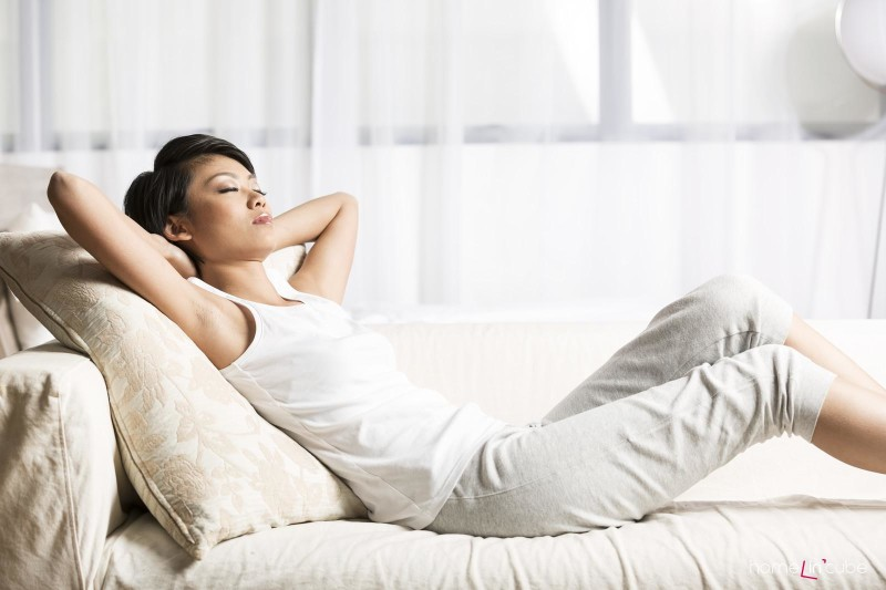 Ve správně navrženém interiéru podle pravidel feng shui se vám bude dobře odpočívat.