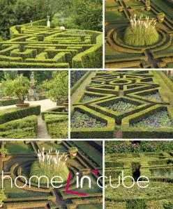 Zahradám připomínajícím výšivku se také říká broderiové. partery