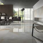 Slinutá rektifikovaná dlažba Ultra Marmi, odstín Oniceto (Ariostea). Rozměr 150 x 350 cm, prodává MB keramika