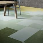 Kombinace z modulů Colour, 50 x 50 cm v různých odstínech jedné barvy.