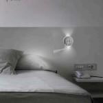 Nástěnné světlo Lov (Leds grok), kov, Uni light