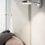 Nástěnné světlo v ložnici, 3leds (Milan), kov, Uni light