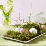 Mech na velikonoční tabuli vydrží poměrně dlouho.