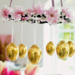 Při Velikonoční výzdobě se fantazii nekladou žádná omezení, pokud jsou zastoupeny prvky přírody a vajíčka, jako symbol pokračování života.