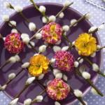 Na slavnostním velikonočním stole nesmí chybět první jarní květy, jako posel probuzené přírody.