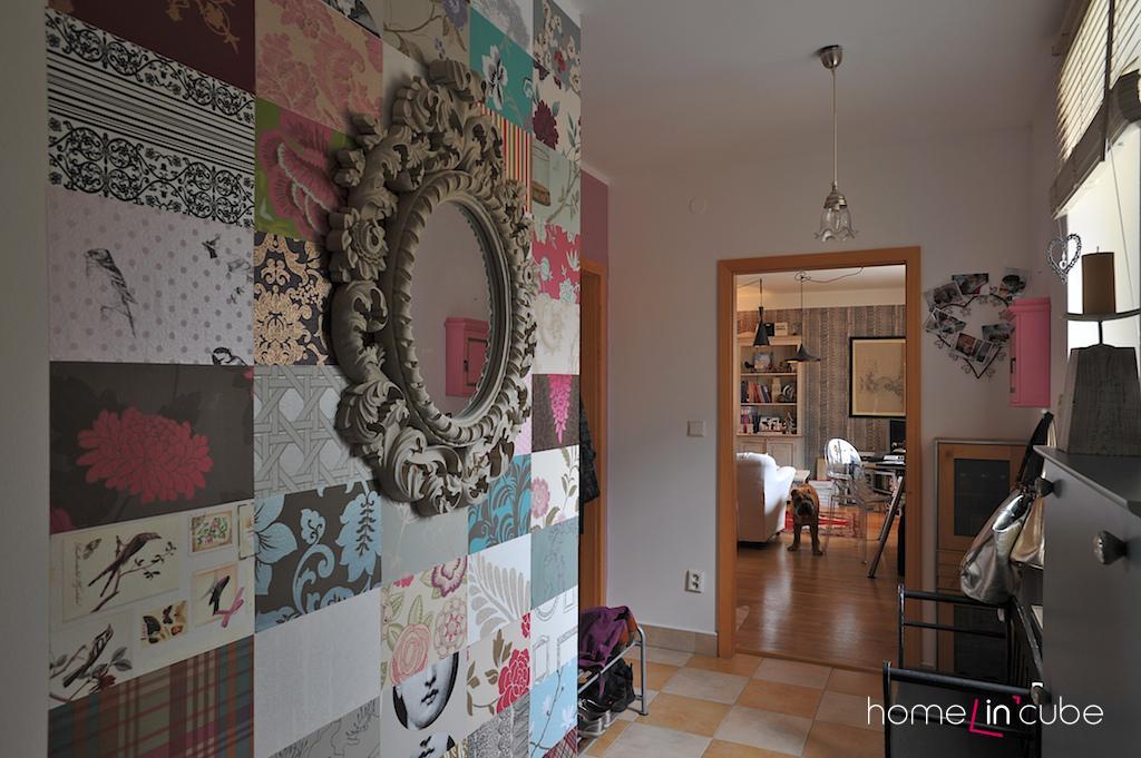 Velké prostory v bytě mohou být zajímavě pojednány odvážnými dekoracemi.