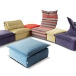 Co teprve, když si můžeme nastavit opěrku zad. Bles sofas (Calia Italia), prodává Centrum Hanák.