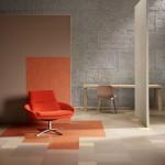 Barevná škála modulů Marmolea umožňuje sladit podlahu s barvami mobiliáře do harmonického výrazu.
