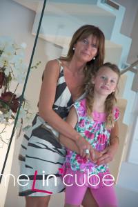Majitelka s dcerou