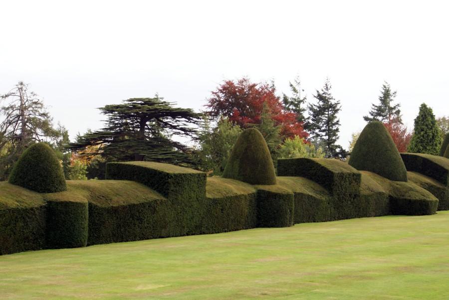 Tvarováním ozdobných keřů a stromů dodáme zahradě zvláštní ojedinělou atmosféru.