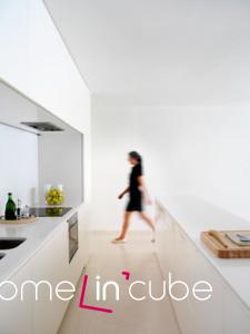 Kuchyně ve třetím nadzemním podlaží.