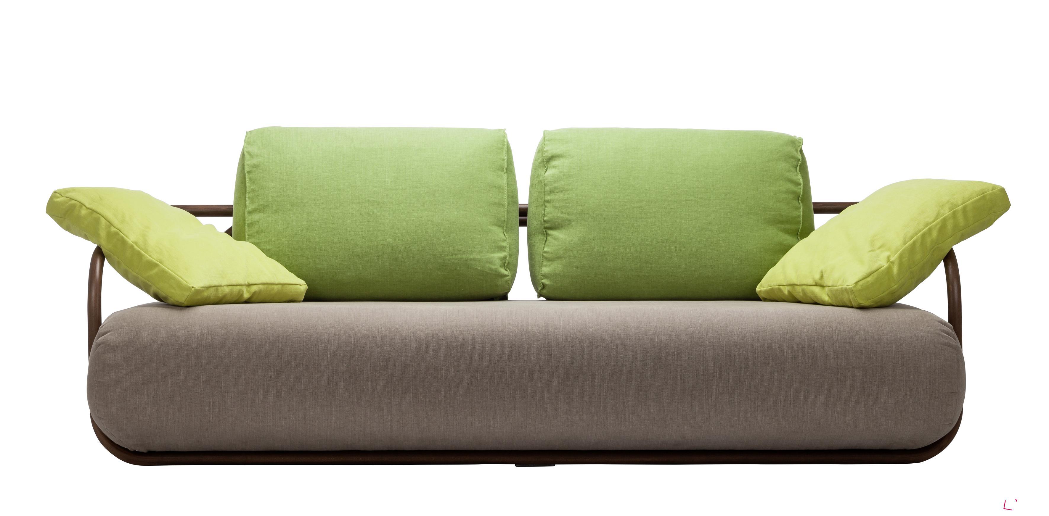 Sofa 2002 (design Christian Werner), Thonet. Sedačka je dílem THONET Studio Frankenberg 02/2015.
