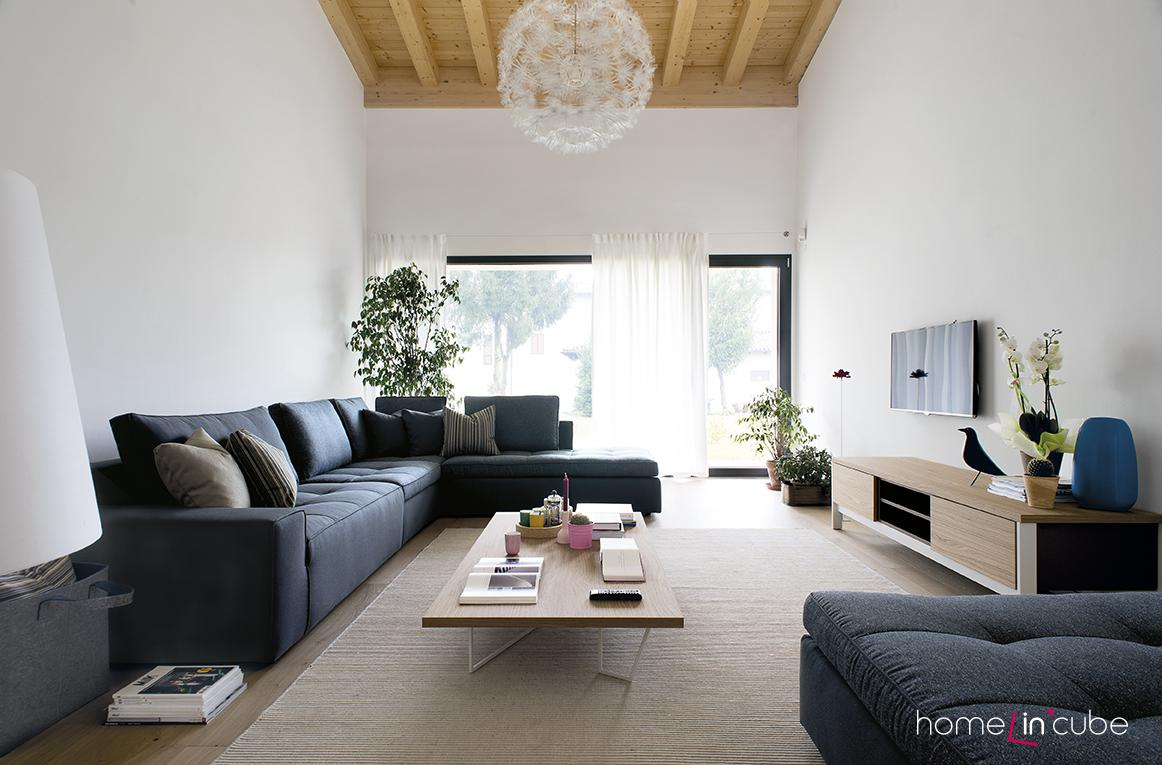 Rohová sedací souprava Lounge (design Stefano Cavazzana), Calligaris.