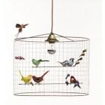 Závěsné svítidlo Challieres birdcage.