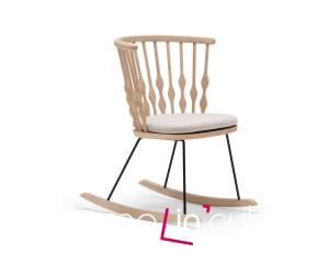 Houpací křeslo Nub (design Patricia Urquiola), Andreu World.