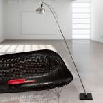 Stojaci lampa 14 max Floor Black