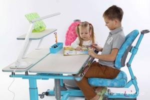 Pracovní stůl umisťujeme směrem k oknu tak, aby si školák nestínil rukou, kterou píše.
