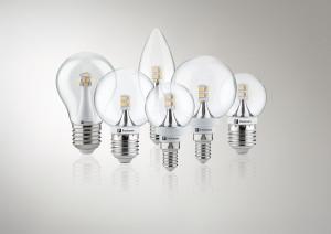 U LED žárovky sledujeme vyzařovací úhel. Správný je 360ᵒ.  LED žárovky (Paulmann), prodává Aulix.