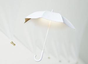 Nástěnné světlo Deštník