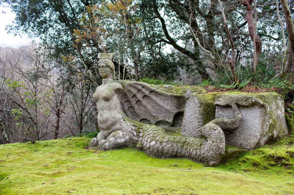 Zahrada Parco dei Monstri
