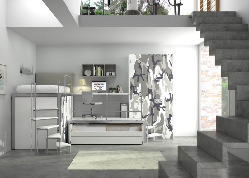 Loftov postele v d tsk m pokoji perfektn vy e mal for Toto arredamenti