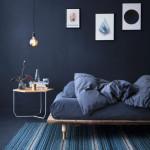 Hrubé dřevo můžeme použít i na rám postele.
