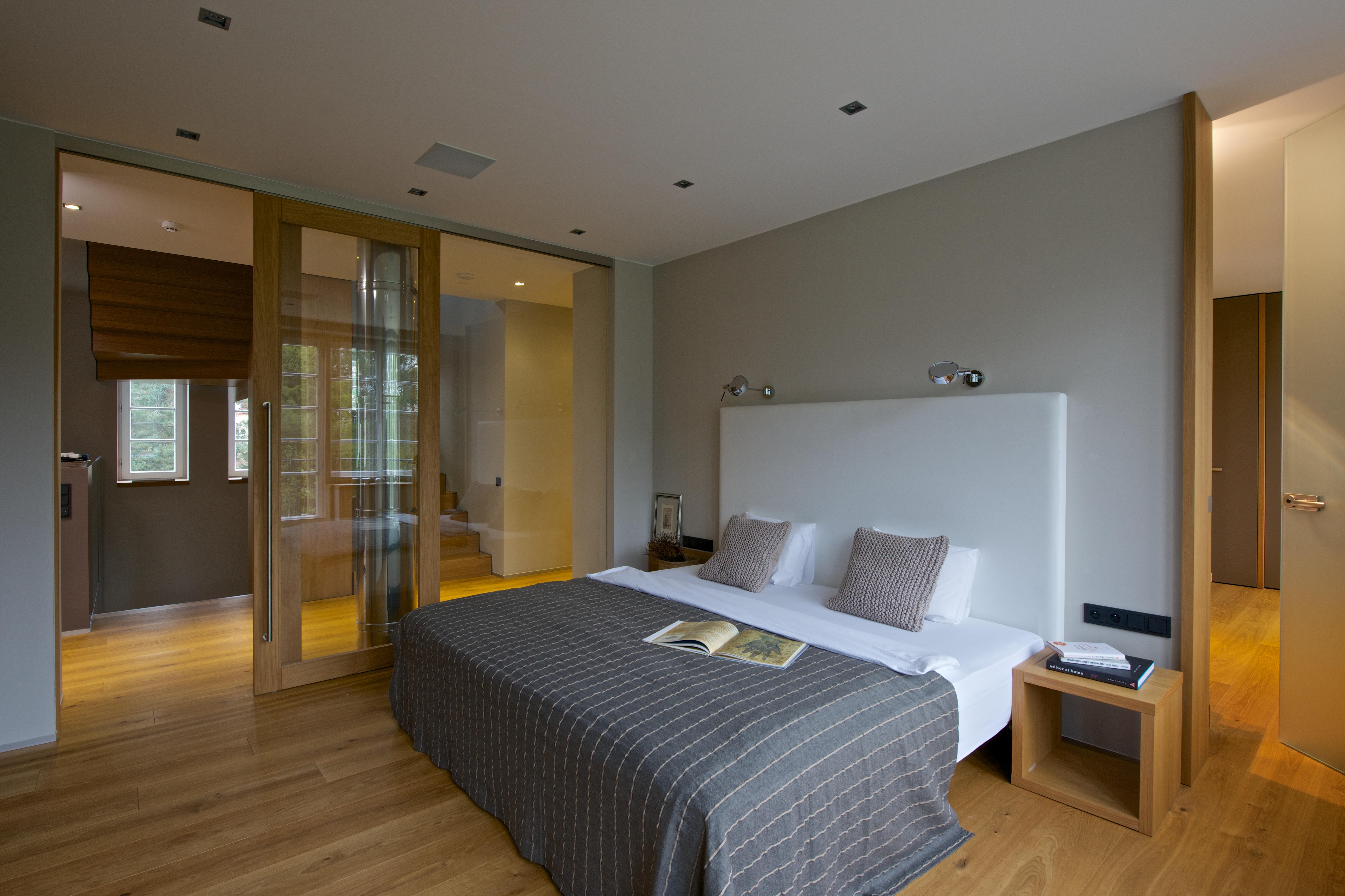 Rekonstrukce vily, ložnice