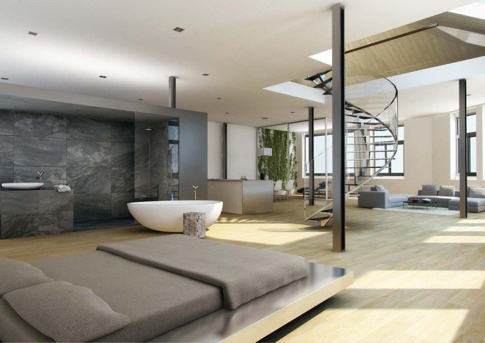 loft aneb bydlen v otev en m prostoru m sv skal. Black Bedroom Furniture Sets. Home Design Ideas