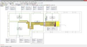 Hotový projekt zpracovaný v projekčním programu TechCon Meibes + COMAP