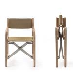 Nenajdete-li vhodnou stohovatelnou židli, pak zvolte skládací.