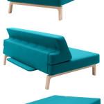 Rozkládací sofa se může stěhovat s vámi.